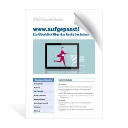 www.aufgepasst! von Lienhart,  Astrid
