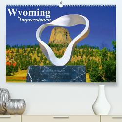 Wyoming • Impressionen (Premium, hochwertiger DIN A2 Wandkalender 2021, Kunstdruck in Hochglanz) von Stanzer,  Elisabeth