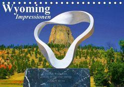 Wyoming • Impressionen (Tischkalender 2019 DIN A5 quer) von Stanzer,  Elisabeth
