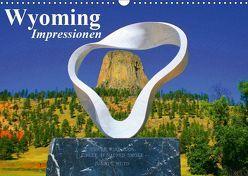 Wyoming • Impressionen (Wandkalender 2019 DIN A3 quer) von Stanzer,  Elisabeth