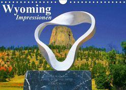 Wyoming • Impressionen (Wandkalender 2019 DIN A4 quer) von Stanzer,  Elisabeth