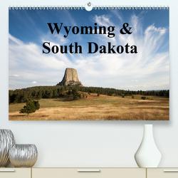 Wyoming & South Dakota (Premium, hochwertiger DIN A2 Wandkalender 2021, Kunstdruck in Hochglanz) von Wörndl,  Wolfgang