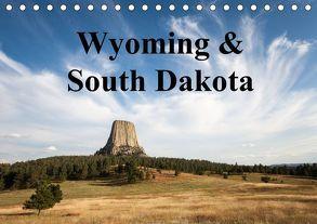 Wyoming & South Dakota (Tischkalender 2018 DIN A5 quer) von Wörndl,  Wolfgang