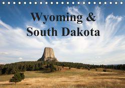 Wyoming & South Dakota (Tischkalender 2019 DIN A5 quer) von Wörndl,  Wolfgang