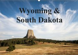 Wyoming & South Dakota (Wandkalender 2019 DIN A2 quer) von Wörndl,  Wolfgang