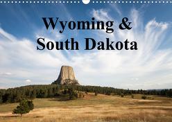 Wyoming & South Dakota (Wandkalender 2020 DIN A3 quer) von Wörndl,  Wolfgang