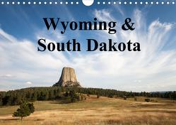 Wyoming & South Dakota (Wandkalender 2020 DIN A4 quer) von Wörndl,  Wolfgang