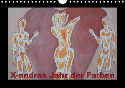 X-andras Jahr der Farben (Wandkalender 2018 DIN A4 quer) von X-andra,  k.A.