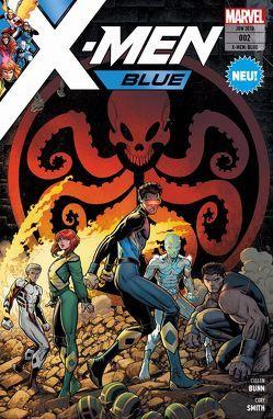 X-Men: Blue von Bunn,  Cullen, Franchin,  Douglas, Petz,  Jürgen, Silas,  Thony, Smith,  Cory, Valletta,  Giovanni, Vazquez,  Joey