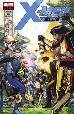 X-Men: Blue von Bunn,  Cullen, Petz,  Jürgen, Silas,  Thony, Silva,  R.B.