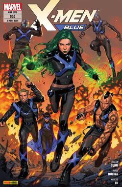 X-Men: Blue von Bunn,  Cullen, Molina,  Jorge, Perkins,  Mike, Petz,  Jürgen, Silva,  R.B., To,  Marcus