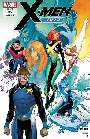 X-Men: Blue von Bunn,  Cullen, Genolet,  Andrés, Molina,  Jorge, Petz,  Jürgen, Stockman,  Nathan, To,  Marcus