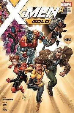X-Men: Gold von Guggenheim,  Marc, Petz,  Jürgen, Silva,  R.B., Syaf,  Ardian