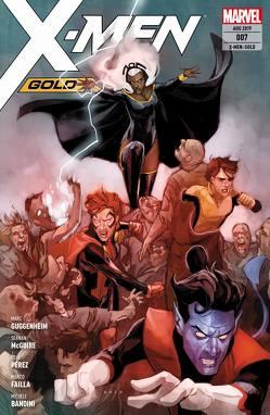 X-Men: Gold von Bandini,  Michele, Buonfantino,  Simone, Failla,  Marco, Guggenheim,  Marc, McGuire,  Seanan, Pérez,  Pere, Petz,  Jürgen, Valletta,  Giovanni