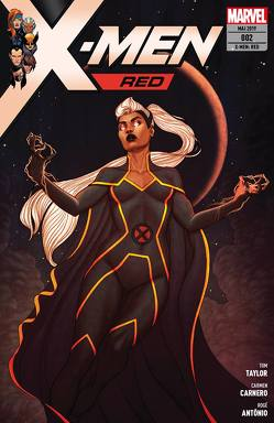 X-Men: Red von Carnero,  Carmen, Taylor,  Tom