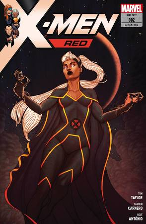 X-Men: Red von Antonio,  Roge, Carnero,  Carmen, Petz,  Jürgen, Taylor,  Tom