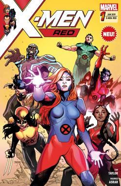 X-Men: Red von Asrar,  Mahmud, Taylor,  Tom