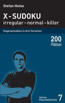 X-Sudoku – irregular – normal – killer von Heine,  Stefan