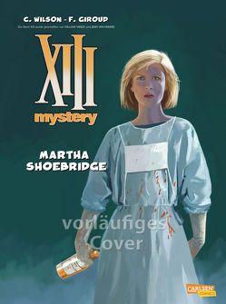 XIII Mystery 8: Martha Shoebridge von Giroud,  Frank, Wilson,  Colin