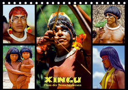 XINGU – Fluss der Menschenwesen (Tischkalender 2020 DIN A5 quer) von D. Günther,  Klaus