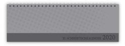 XL – Schreibtischquerkalender 2020