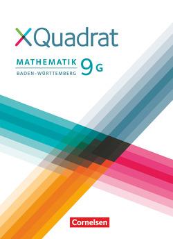 XQuadrat – Baden-Württemberg / 9. Schuljahr – Schülerbuch von Baum,  Dieter, Klein,  Hans-Martin, Schmid,  Thilo