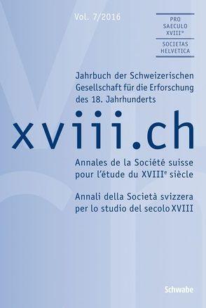 xviii.ch Vol. 7/2016 von Boscani Leoni,  Simona, Nicoli,  Miriam