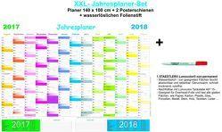 XXL-Jahresplaner-Set 2017/2018 von E&Z-Verlag