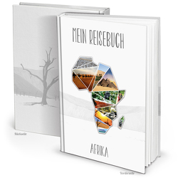 XXL Kontinent AFRIKA Reisetagebuch (Hardcover A4, Blankoseiten)