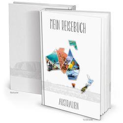 XXL Kontinent AUSTRALIEN Reisetagebuch (Hardcover A4, Blankoseiten)