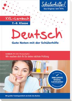 XXL-Lernbuch Deutsch 7./8. Klasse