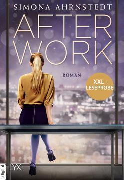 XXL-Leseprobe: After Work von Ahrnstedt,  Simona, Rieck-Blankenburg,  Antje