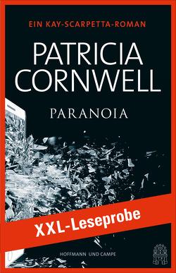 XXL-LESEPROBE: Cornwell – Paranoia von Cornwell,  Patricia, Dufner,  Karin