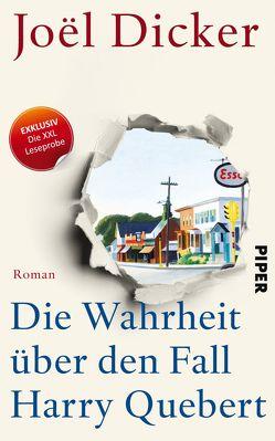XXL-Leseprobe: Die Wahrheit über den Fall Harry Quebert von Dicker,  Joël, Enzenberg,  Carina von