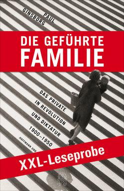 XXL-LESEPROBE: Ginsborg – Die geführte Familie von Ginsborg,  Paul, Held,  Ursula, Juraschitz,  Norbert, Schlatterer,  Heike