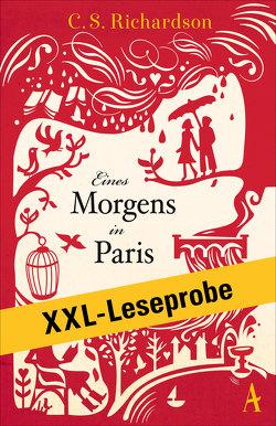 XXL-LESEPROBE: Richardson – Eines Morgens in Paris von Bandini,  Giovanni und Ditte, Richardson,  Charles Scott