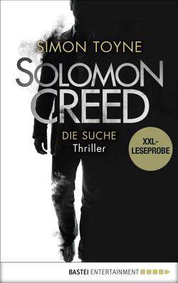XXL-Leseprobe: Solomon Creed – Die Suche von Toyne,  Simon