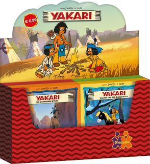 Yakari 37 – 40. Verkaufskassette von Finke,  Christine