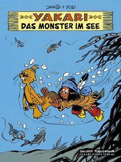 Yakari Band 17: Das Monster im See von Derib,  Claude, Jobin,  André, Schott,  Eckart