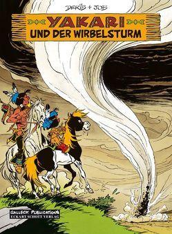 Yakari Band 22: Yakari und der Wirbelsturm von Derib,  Claude, Jobin,  André, Schott,  Eckart