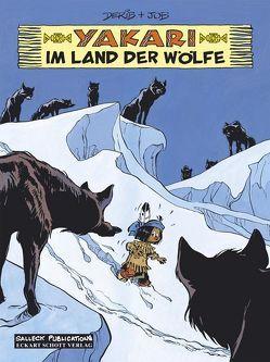 Yakari Band 8: Im Land der Wölfe von Derib,  Claude, Job,  i.e. Jobin,  André, Schott,  Eckart