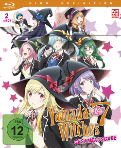 Yamada-kun and the Seven Witches – Gesamtausgabe – Blu-ray Box (2 Blu-rays) von Takuno,  Siki