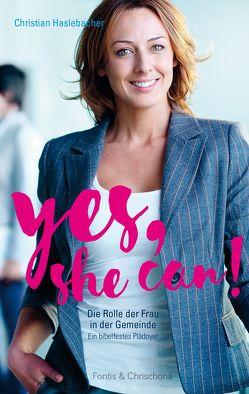 Yes, she can! von Haslebacher,  Christian
