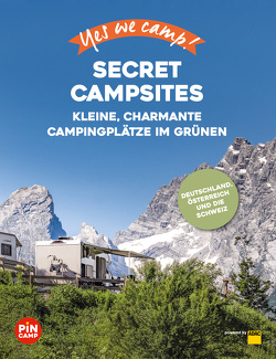 Yes we camp! Secret Campsites von Blank,  Gerd, Hahnfeldt,  Marion, Model,  Elisa