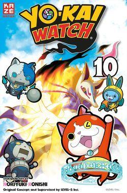 Yo-kai Watch 10 von Konishi,  Noriyuki, Level Five, Tabuchi,  Etsuko, Weitschies,  Florian