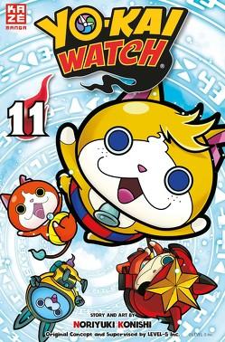 Yo-kai Watch 11 von Konishi,  Noriyuki, Level Five, Tabuchi,  Etsuko, Weitschies,  Florian