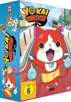 Yo-kai Watch Collectors Box (Episoden 1-26) (4 DVDs) von Ushiro, Shinji