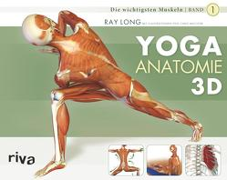 Yoga-Anatomie 3D von Long,  Ray, Macivor,  Chris