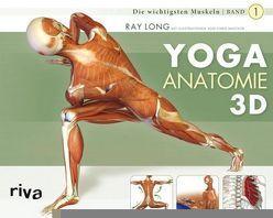 Yoga-Anatomie 3D von Long,  Ray