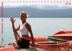 Yoga – Harmonie am Walchensee (Tischkalender 2019 DIN A5 quer) von Thiel,  Isabella